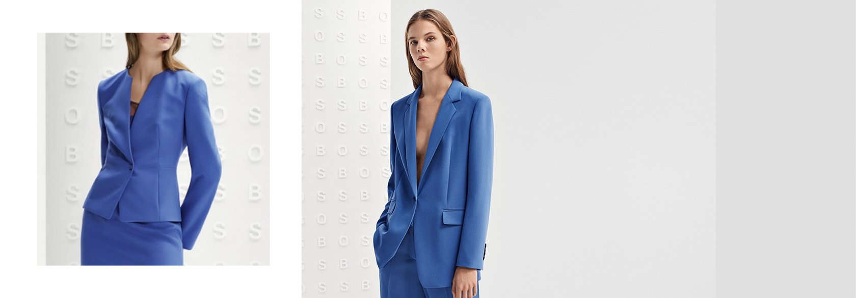 20732a0382 Artículo de tonos azules BOSS para mujer ...