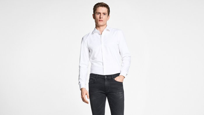 Jeans fit guide for him by BOSS