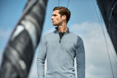HUGO BOSS sailing boat