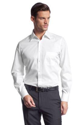 Business-Hemd ´ELTON` aus Baumwolle, Weiß