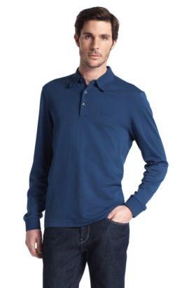 Poloshirt ´Parma` mit Polo-Kragen, Dunkelblau