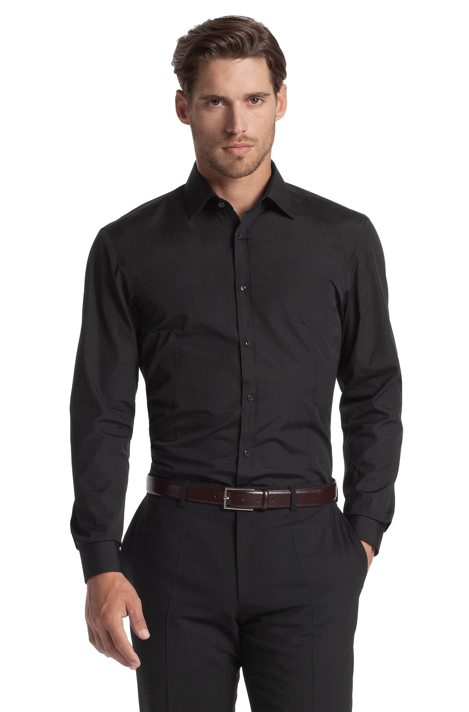 Slim-Fit Business-Hemd ´Eifel` mit Windsorkragen