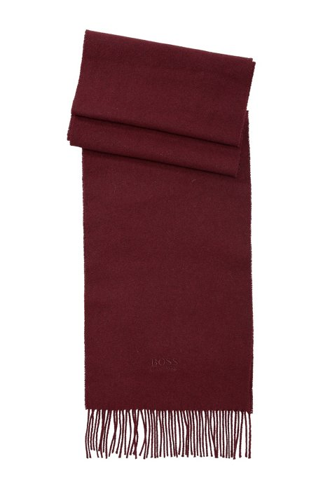 Cashmere scarf 'Scottas', Red