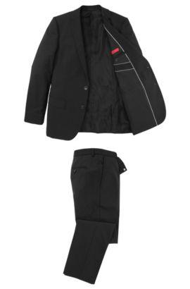 Slim-Fit Anzug ´Amaro/Heise`, Schwarz
