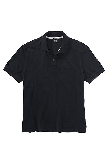 男款经典Polo衫,  401_暗蓝色