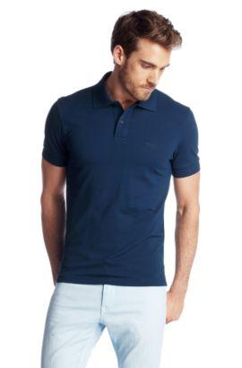 Polo shirt 'Firenze/Logo Modern Essential', Blue