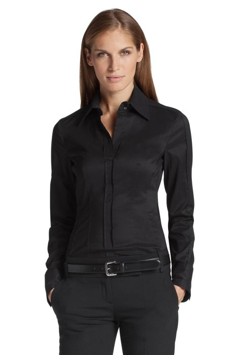 Blouse 'Bashina2', Black