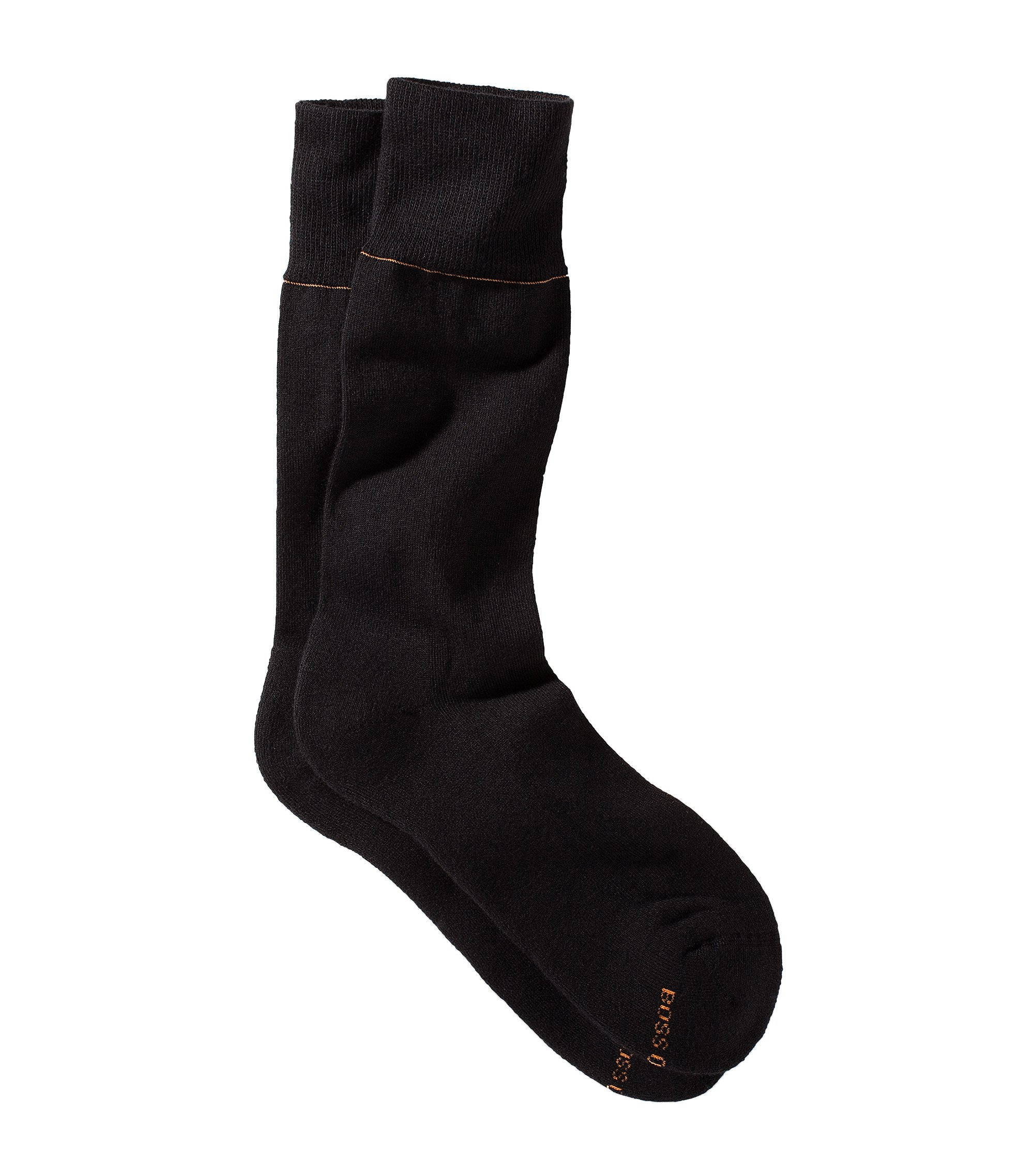 Cotton socks 'Axel RS Uni', Black