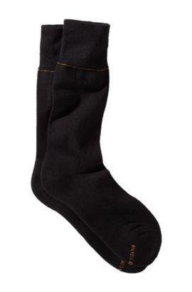 Chaussettes en coton, Axel RS Uni, Noir