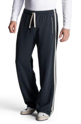 Pantalon détente à détails contrastants, Hajo, Bleu foncé