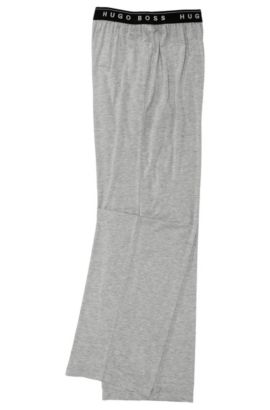 Hose ´Long Pant BM` aus Modalkomposition, Grau