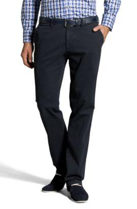 Pantalon chino, Crigan1-D, Bleu foncé