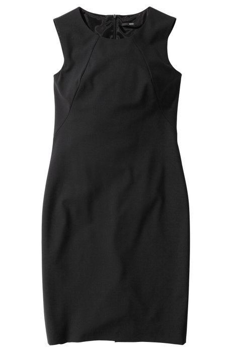 Sleeveless dress 'Dallasa', Black