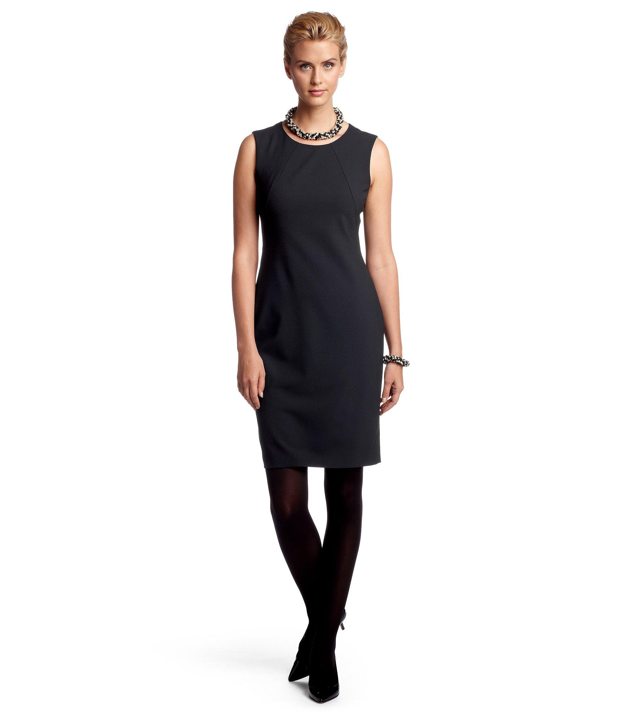 Kleid ´Dallasa` ohne Ärmel, Dunkelblau