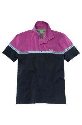 Schmales Poloshirt ´Paddy 4`, Dunkelblau