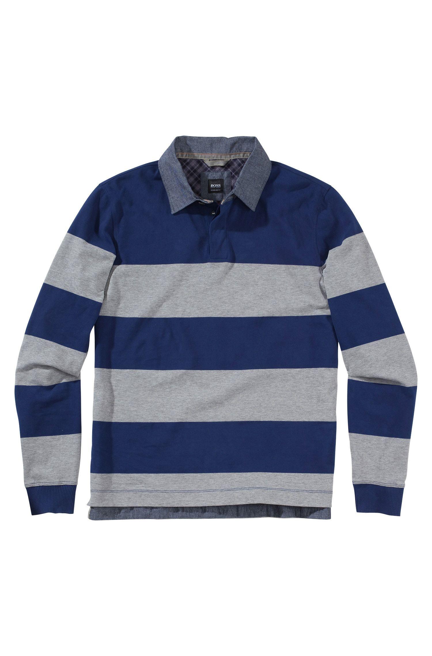 Longsleeve-Poloshirt ´Parobe 25`