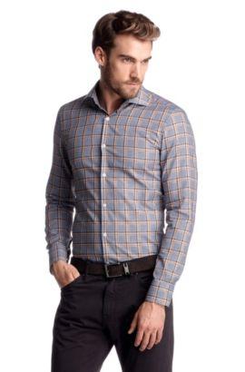 Slim-Fit Business-Hemd ´Jaron`, Hellbraun