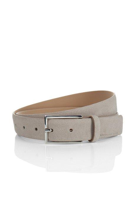Suede belt 'GAVRILO-S', Grey
