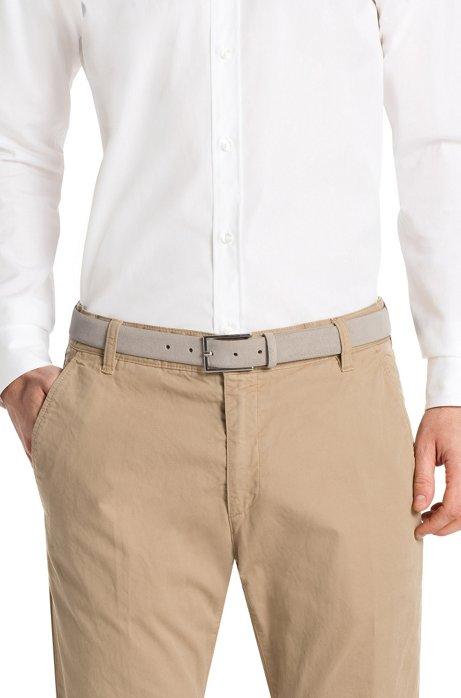 Gavrilo Suede Leather Belt