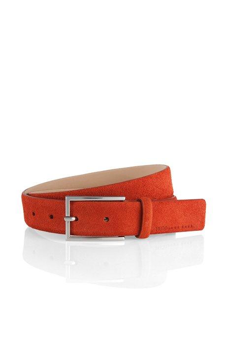 Suede belt 'GAVRILO-S', Brown