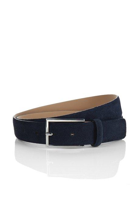 Suede belt 'GAVRILO-S', Dark Blue