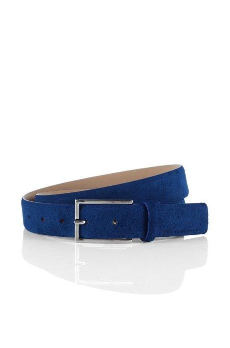 Suede belt 'GAVRILO-S', Blue