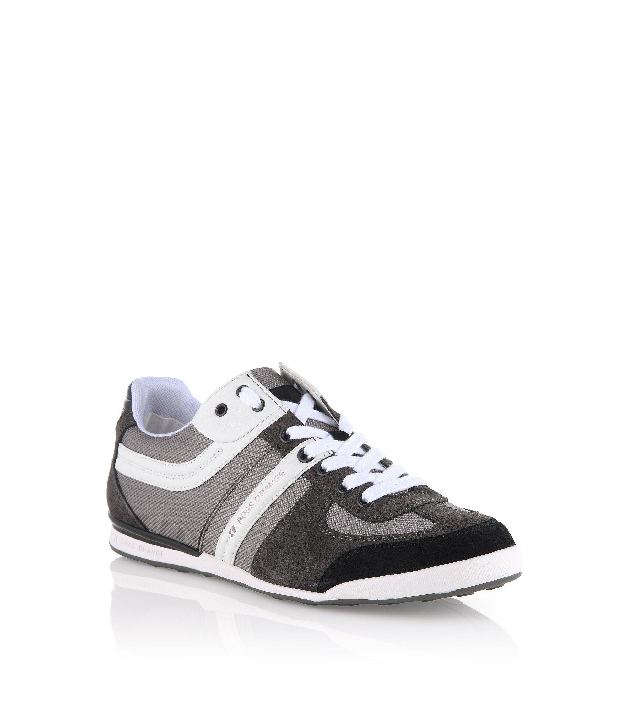 Sneaker ´KEELO` mit Veloursleder und Nylon, Grau