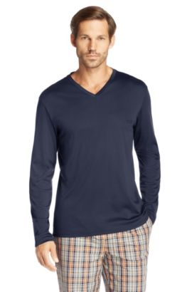 Longsleeve ´Shirt LS VN BM` aus Baumwolle, Hellblau