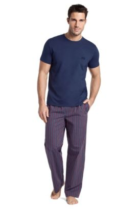 Cotton pyjama set ´Set SS LP BM`, Open Blue