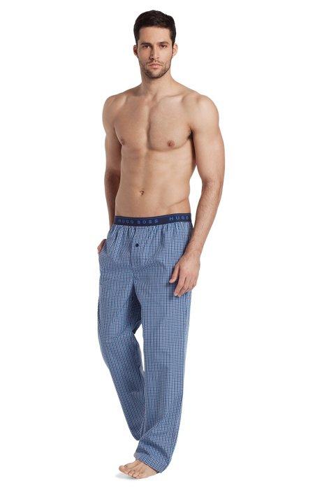 Woven trousers 'Long Pant EW BM', Dark Blue