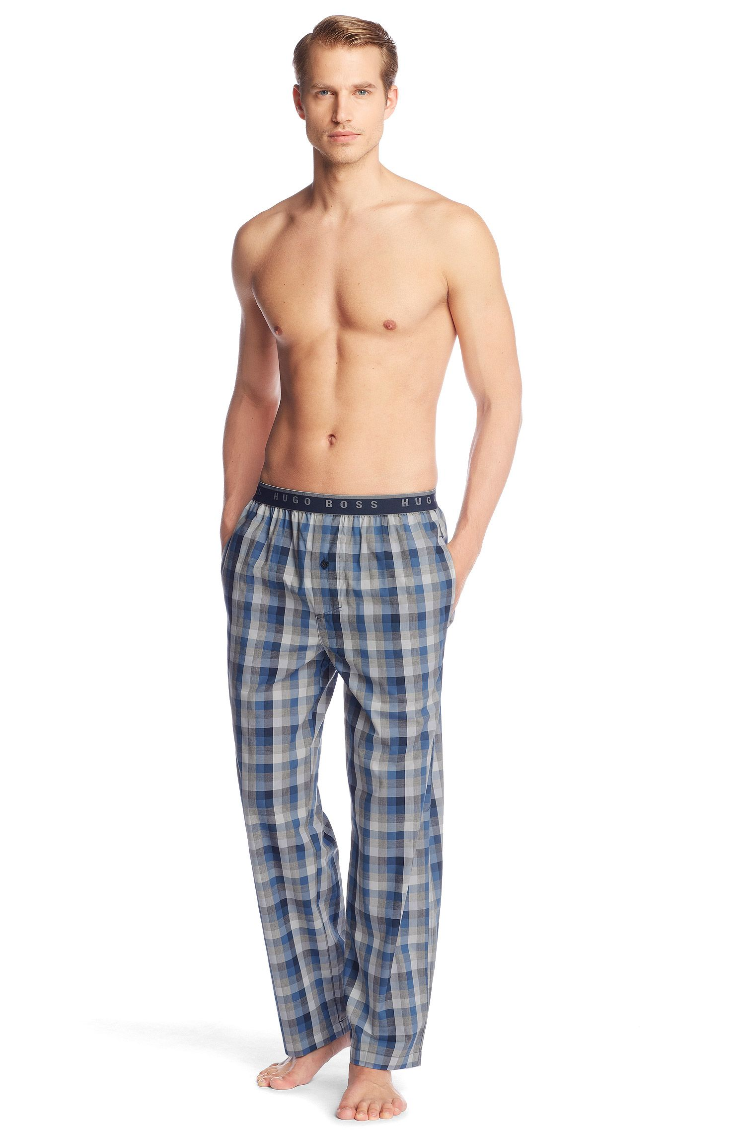 Pantalon à carreaux vichy, Long Pant EW BM