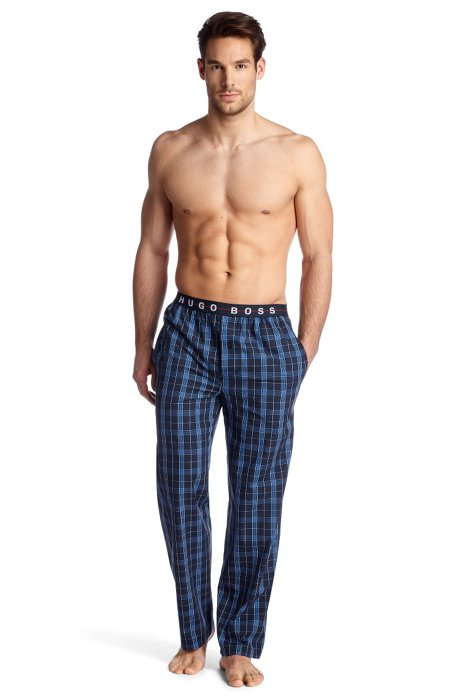 Woven trousers 'Long Pant EW BM', Open Blue