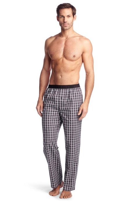 Woven trousers 'Long Pant EW BM', Open Purple