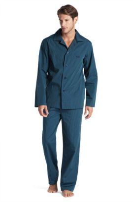 Ensemble de pyjama, Set Long Woven BM, Bleu vif