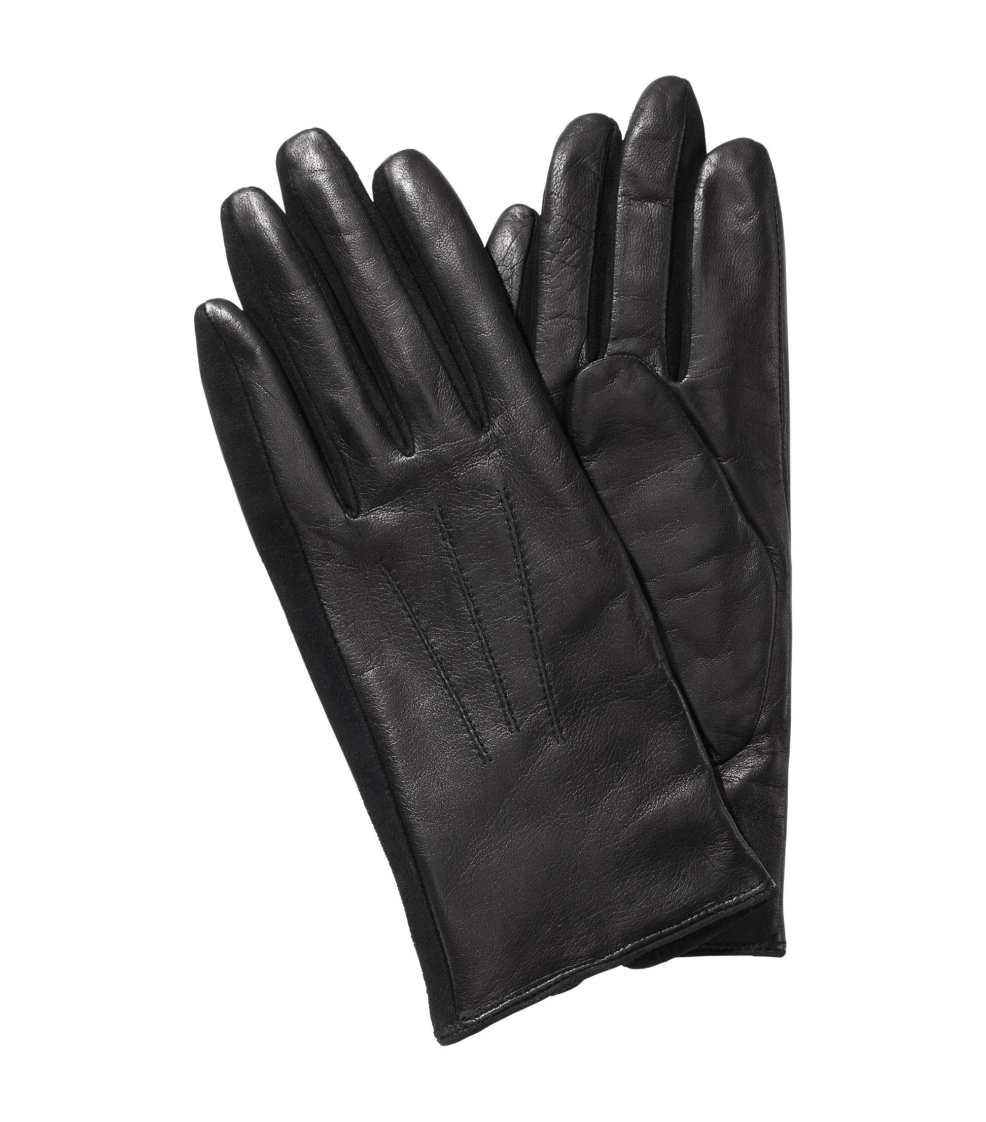 Short lambskin glove 'GL 188', Black