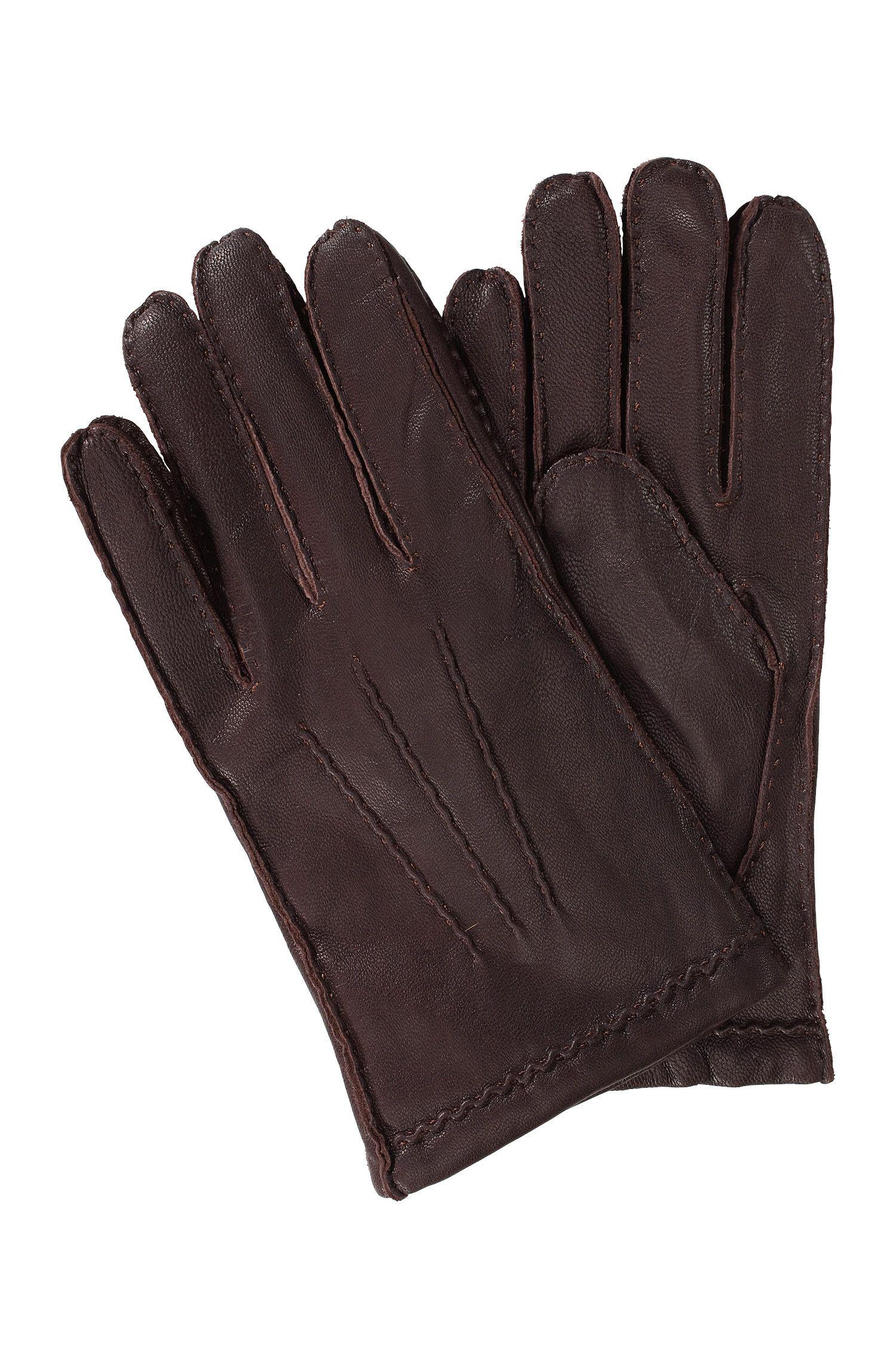 Zachte handschoen ´Kantoz` van geitenleer