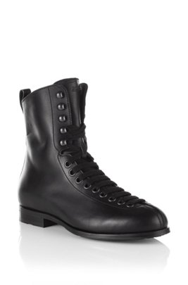 Boot with variable lacing 'FESTOR', Black