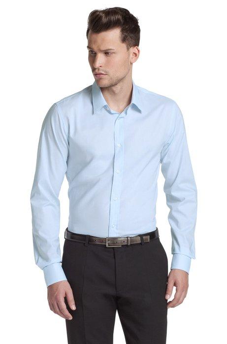 Slim Fit business shirt 'Elisha', Light Blue