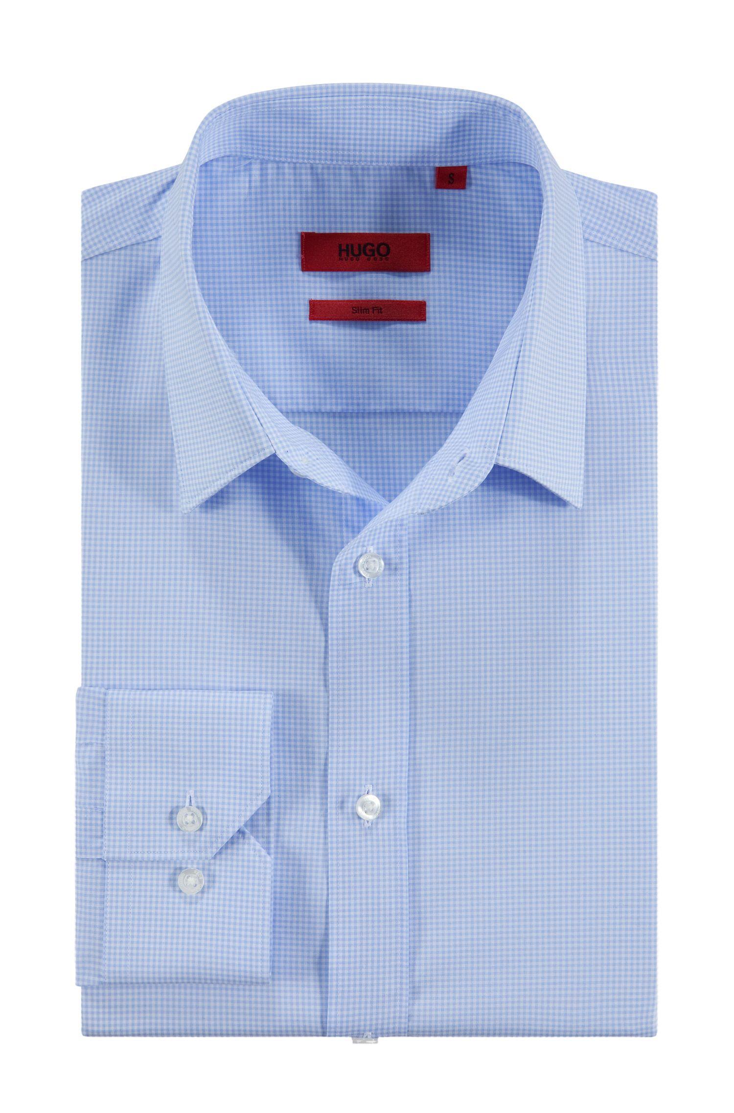 Freizeit-Hemd ´Elisha` mit kleinen Vichy-Karos