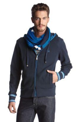 Sweater à capuche, Saggy, Bleu foncé