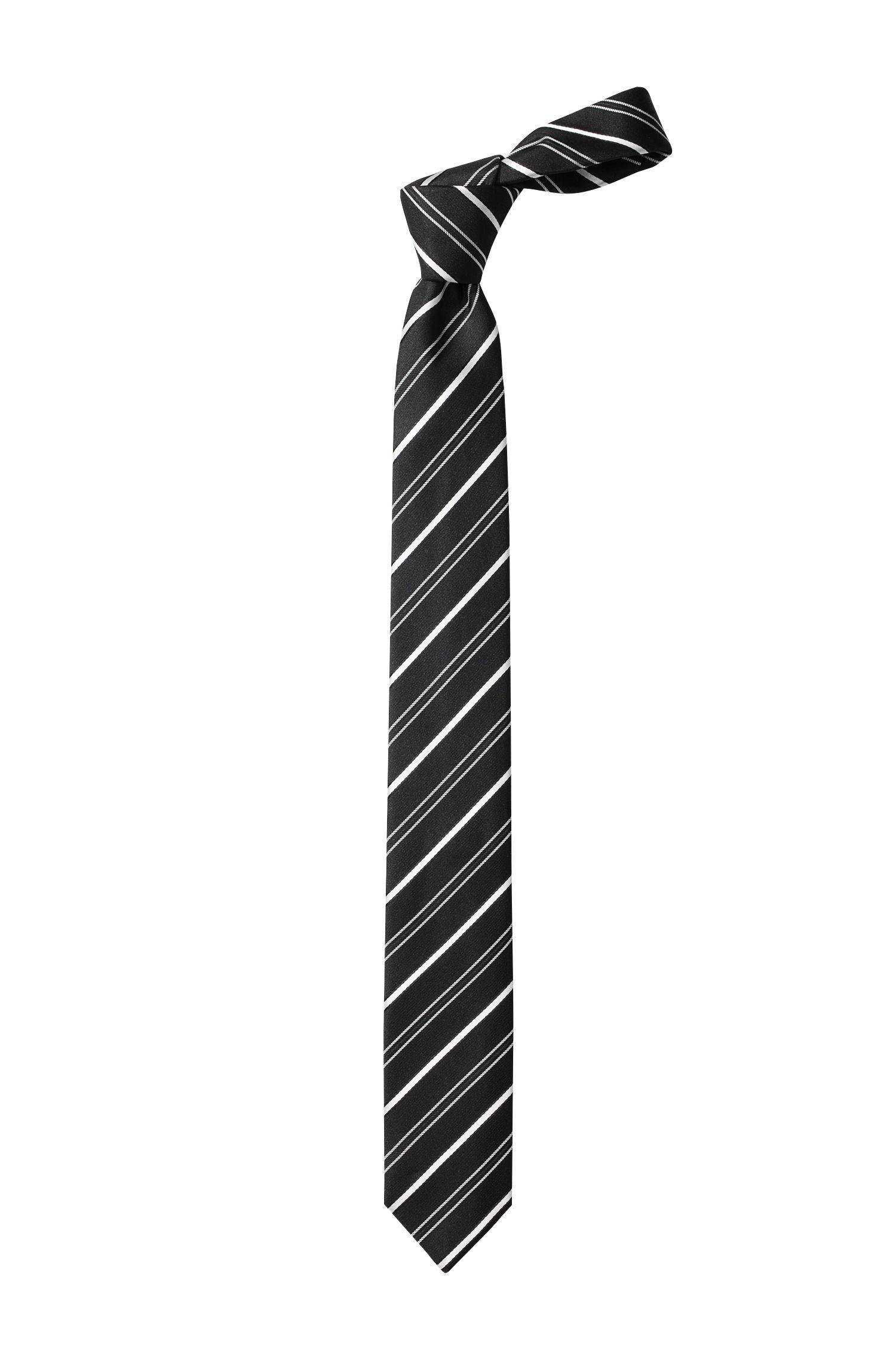 Cravate en soie, Tie 6cm