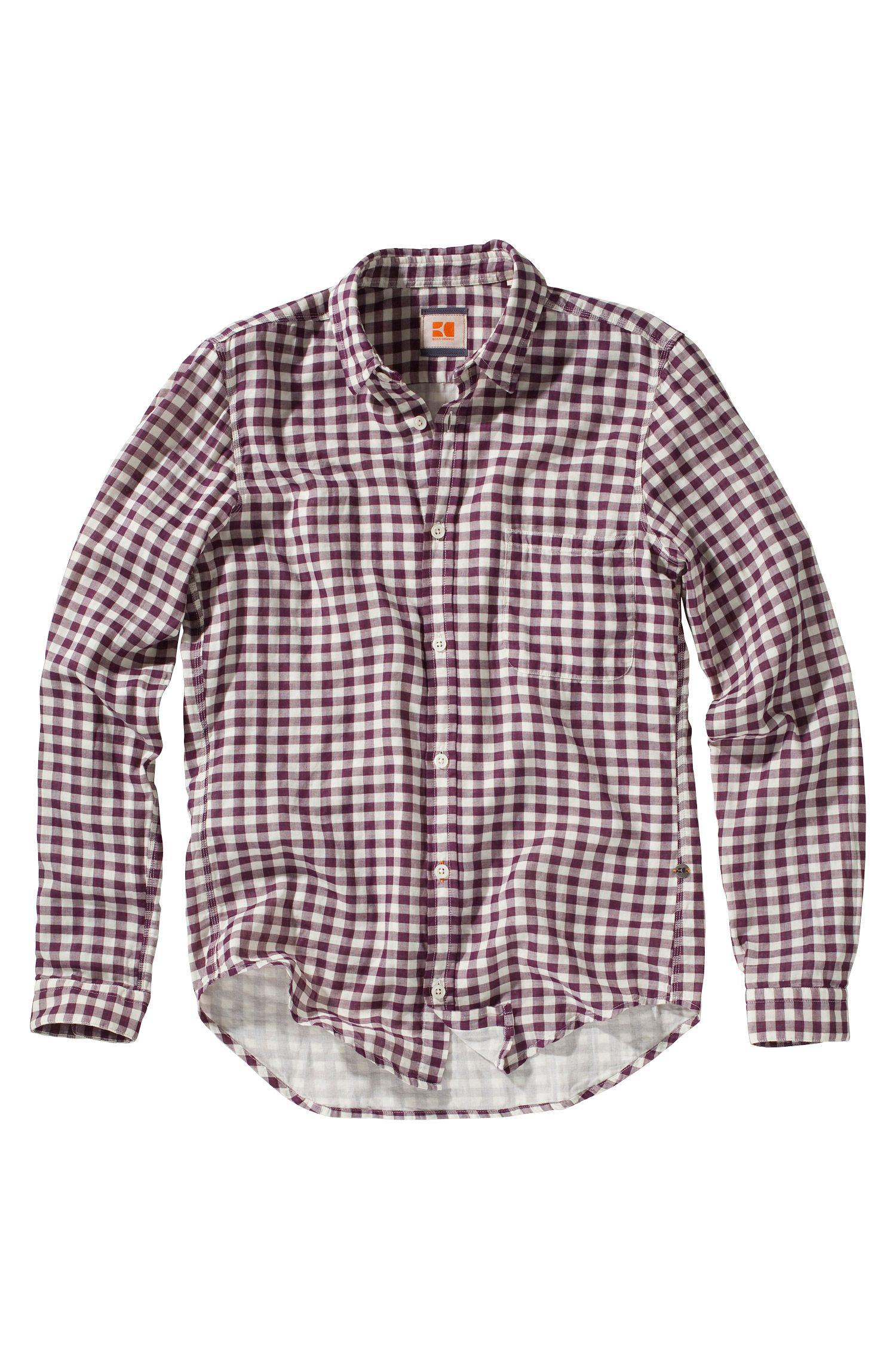 Freizeit-Hemd ´Ebee` mit Kentkragen