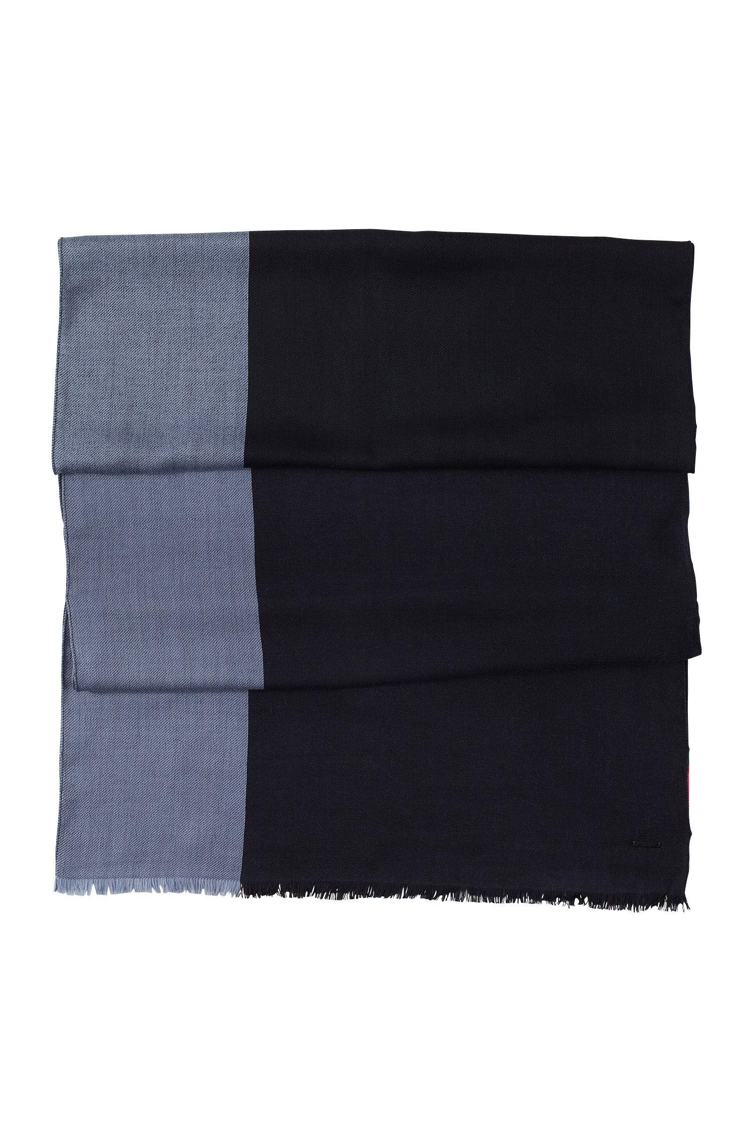 Designer-Schal ´Men-Z 301` aus reiner Wolle