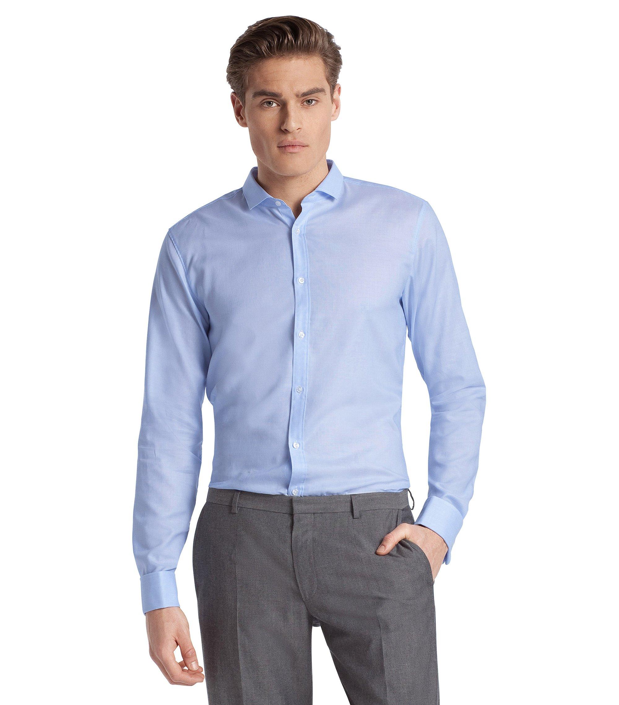 Business-Hemd ´Emin` mit Kentkragen, Hellblau