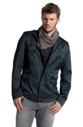 Outdoor-Jacke ´Oxann-W` mit Stehkragen, Hellblau