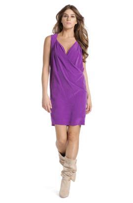 Designer-Dress ´Achrista` aus Seide, Lila