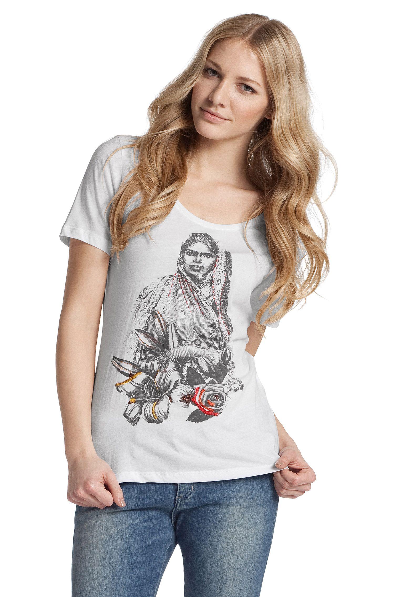 T-shirt à encolure ronde, Taimy