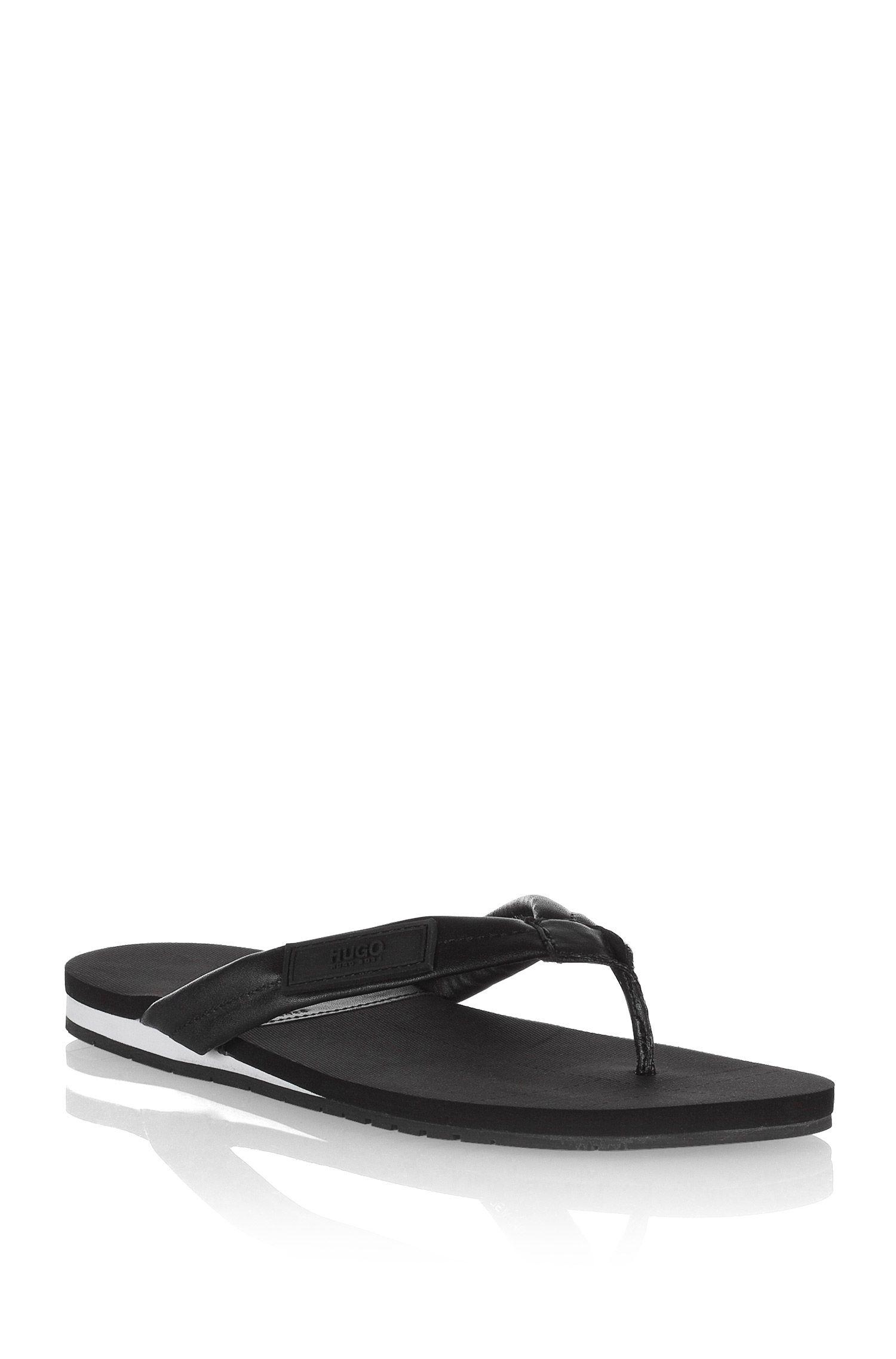 Zehen-Sandale ´THACO` mit Gummi-Sohle