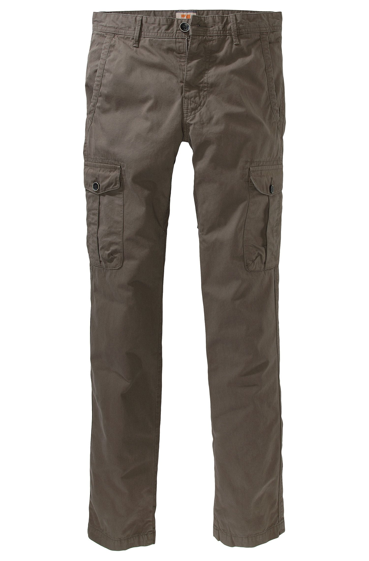 Pantalon cargo de coupe Slim Fit, Spino-D