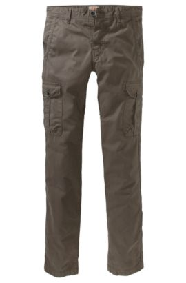 Pantalon cargo de coupe Slim Fit, Spino-D, Kaki